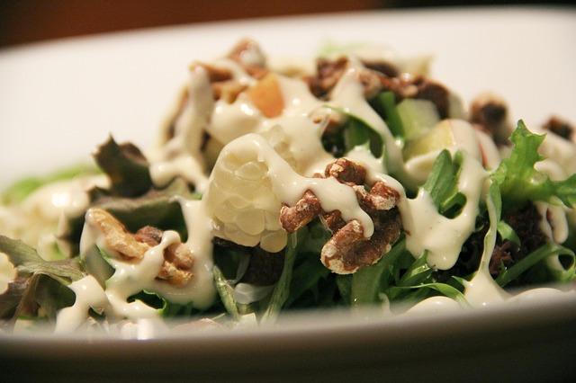 salade bio pour cours de cuisine