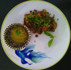 compotée légumes orientale