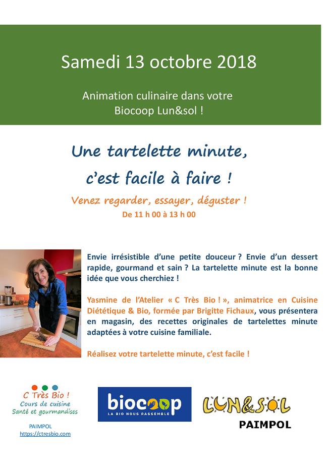 Cours de cuisine bio-Bretagne-Paimpol-Côtes d'Armor