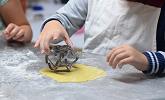 Cours de cuisine enfant à l'atelier C Très Bio de Paimpol