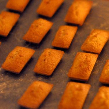 recette financiers crème de marrons - cours de cuisine bio Bretagne