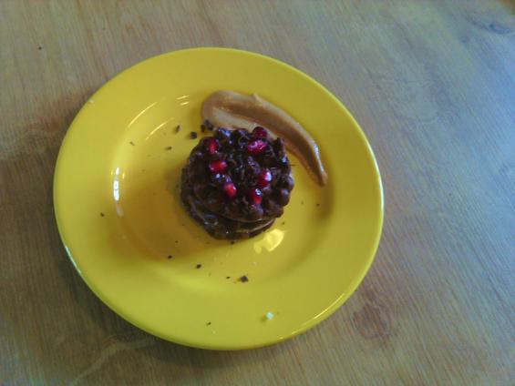 feuille à feuille chocolat-crémeux caramel