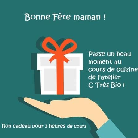 cours de cuisine fête des mères-bon cadeau-atelier c très bio-Paimpol-Côtes d'Armor-Bretagne-Bord de mer