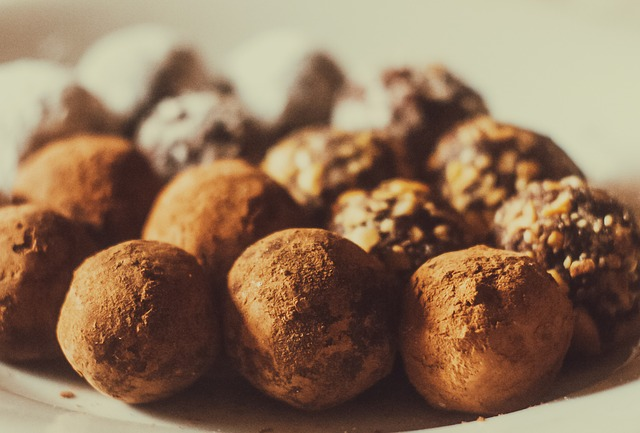Recette des truffes au chocolat-cours de cuisine bio-Paimpol-Côtes d'Armor-Bretagne