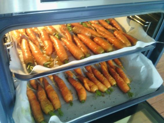 carottes au four