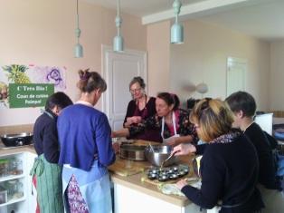 Cuisine indienne végétarienne-C Très Bio- Cours de cuisine santé - Atelier culinaire-Côtes d'Armor-Bretagne - Bord de mer