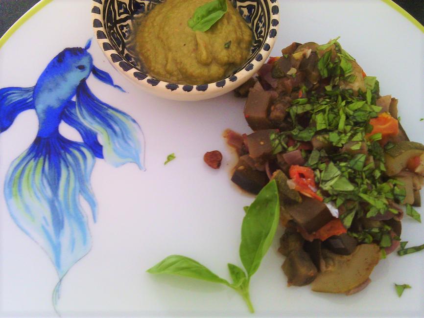 légumes d'été - C Très Bio- Atelier et cours de cuisine - Paimpol - Côtes d'Armor-Bretagne- Bord de mer - aubergine -