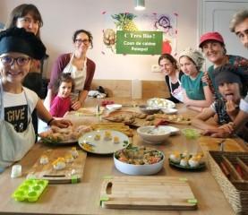 Cours de cuisine - atelier de cuisine - Paimpol- Côtes d'Armor - Bretagne- Santé - Bio- cours enfants - activités enfant - C Très Bio -