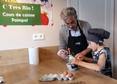 cuisine japonaise - Cours de cuisine - atelier de cuisine - Paimpol- Côtes d'Armor - Bretagne- Santé - Bio- cuisine enfant - biocoop - C Très Bio -
