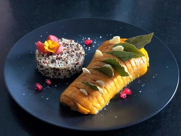 Butternut - courge - Bretagne-Côtes d'Armor - Paimpol - Bio - vegan - végétarien - Bord de mer- pas cher - recette - cours de cuisine