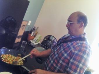 cuisson du risotto