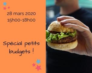 manger bio petit budget mars 2020