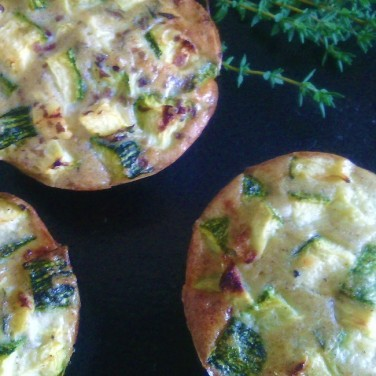 clafouti courgettes