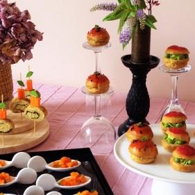 Repas - buffet - traiteur - Bio - Paimpol- Côtes d'Armor - Bretagne - bord de mer