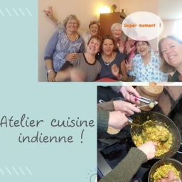 Atelier cuisine indienne !