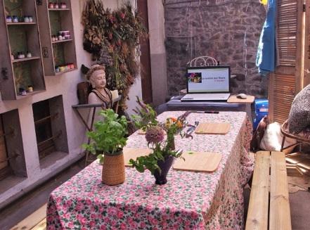 cours de cuisine - atelier - fleurs comestibles - Paimpol - Bretagne - Côtes d'Armor - Bord de mer - activité été - activité enfants - bio