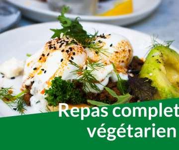 repas complet vegetarien