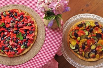 tarte fruits légumes