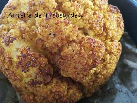 chou fleur - bio - entrée - cours de cuisine - recette - Bretagne - Côtes d'armor - Paimpol - Vegan -