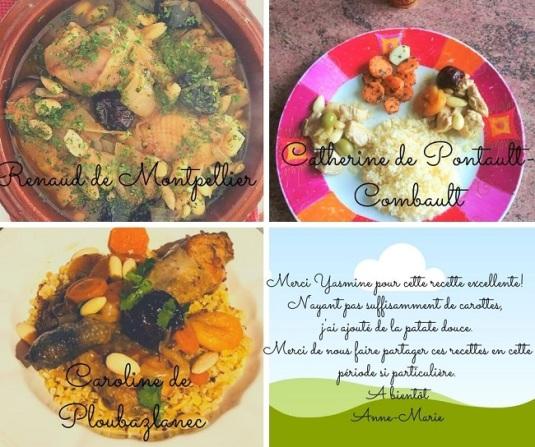 tajine - bio - entrée - cours de cuisine - recette - Bretagne - Côtes d'armor - Paimpol - Vegan -