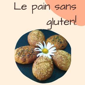 Pain sans gluten new